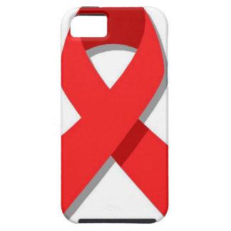 Cinta roja iPhone 5 funda