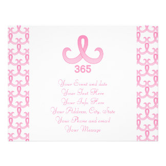 "Cinta rosada 365 folleto 8.5"" x 11"""