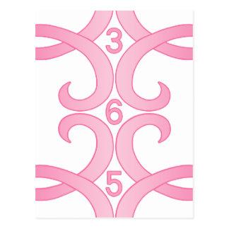 Cinta rosada 365 postales