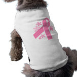 Cinta rosada camisa de mascota