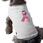 Cinta rosada camisas de mascota