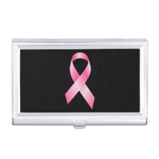 Cinta rosada - conciencia del cáncer de pecho caja de tarjetas de negocios