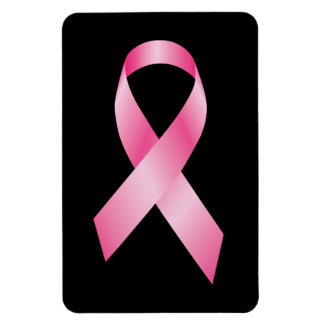Cinta rosada - conciencia del cáncer de pecho imanes de vinilo