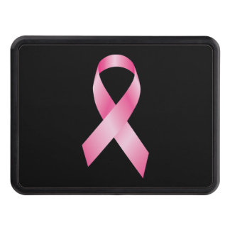Cinta rosada - conciencia del cáncer de pecho tapa de remolque