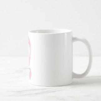 Cinta rosada corriente taza