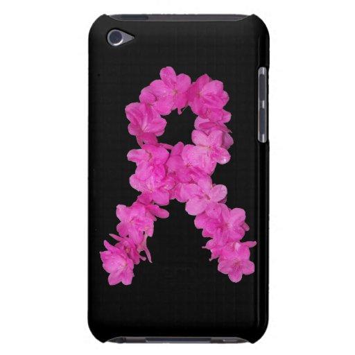 Cinta rosada de la conciencia del cáncer de pecho  iPod touch cárcasa