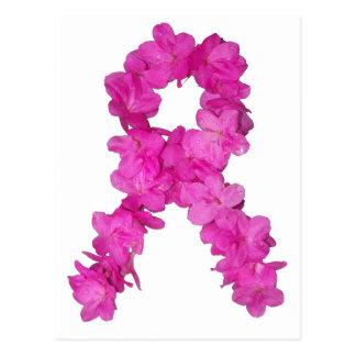 Cinta rosada de la conciencia del cáncer de pecho postales