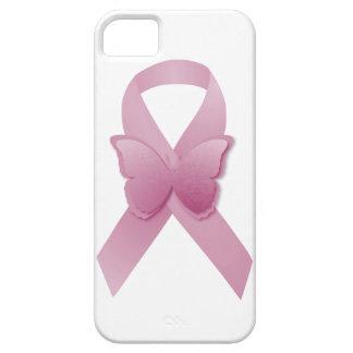 Cinta rosada de la conciencia iPhone 5 funda