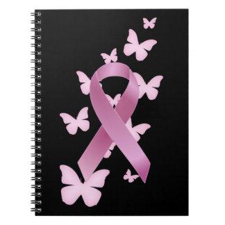 Cinta rosada de la conciencia libro de apuntes