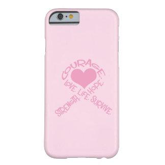 Cinta rosada del caso del iPhone 5 del cáncer de