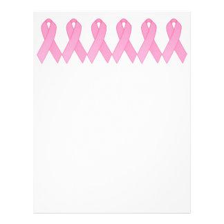 "Cinta rosada folleto 8.5"" x 11"""