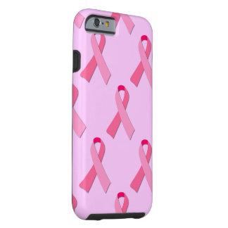 Cinta rosada funda resistente iPhone 6