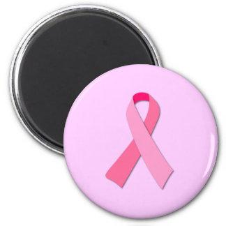 Cinta rosada imán de frigorífico