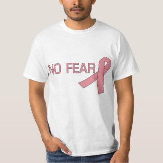Cinta rosada NINGUNA conciencia del cáncer de Playera