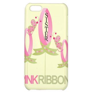 Cinta rosada para el caso del iphone 4 de la herma