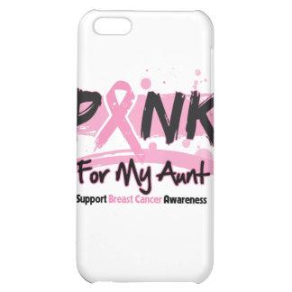 Cinta rosada para mi cáncer de la tía pecho