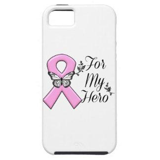 Cinta rosada para mi conciencia del cáncer de iPhone 5 funda