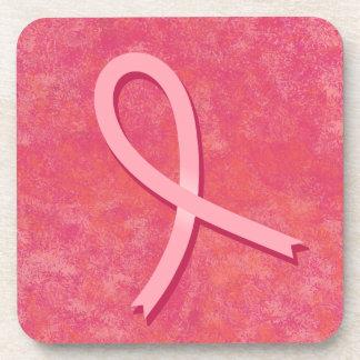 Cinta rosada posavasos