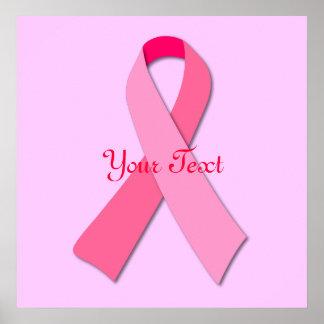 Cinta rosada póster