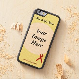 Cinta Tmpl de Borgoña Stnd de Kenneth Yoncich Funda De iPhone 6 Bumper Arce