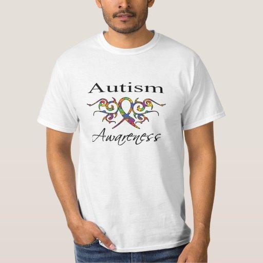 Cinta tribal - conciencia del autismo playera