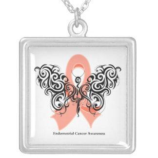Cinta tribal de la mariposa del cáncer endometrial grimpolas