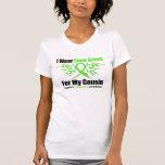 Cinta tribal del linfoma para mi primo camisetas