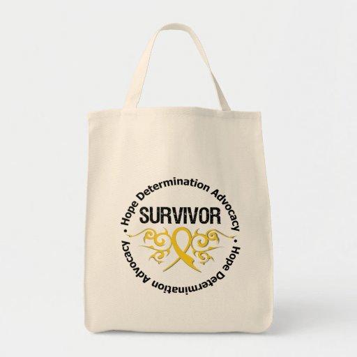 Cinta tribal del superviviente del cáncer de la ni bolsas