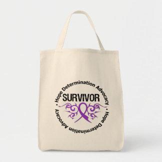 Cinta tribal del superviviente del Fibromyalgia Bolsa De Mano