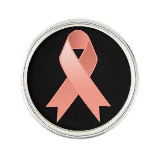 Cinta uterina de la conciencia del cáncer pin