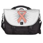 Cinta uterina del corazón del cáncer bolsas de portatil