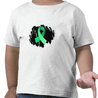 Cinta verde clara de la enfermedad celiaca con gar camisetas