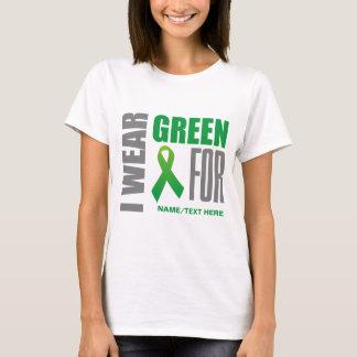 Cinta verde de la conciencia playera