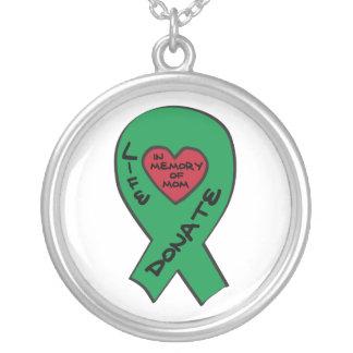 Cinta verde en memoria de la mamá grimpolas