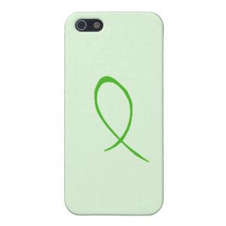 Cinta verde iPhone 5 protectores