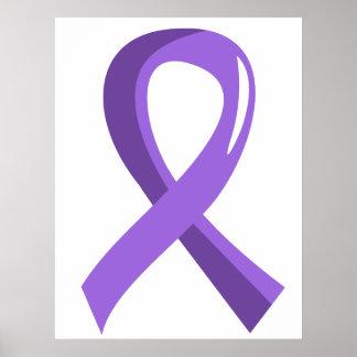 Cinta violeta 3 del linfoma de Hodgkin Impresiones