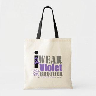 Cinta violeta Brother - el linfoma de Hodgkin Bolsas