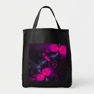 Cintas color de rosa y magentas de la hada de la f bolsas