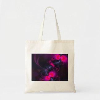 Cintas color de rosa y magentas de la hada de la f bolsa