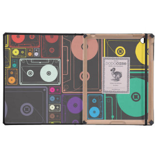 Cintas coloridas de la música