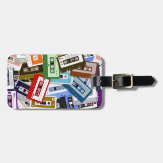 Cintas de casete etiquetas bolsas