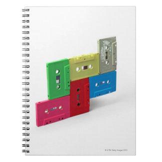 Cintas de casete cuadernos