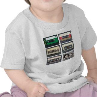 Cintas de casete camisetas
