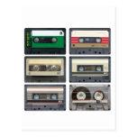 Cintas de casete tarjetas postales