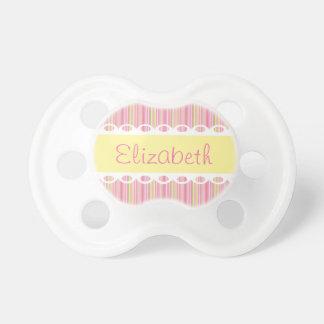 Cintas de encargo y pacificador personalizado chupetes para bebés