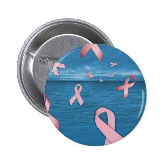 Cintas de la conciencia del cáncer de pecho en el  pin