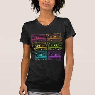 Cintas de neón de la mezcla camiseta