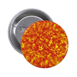 Cintas del botón del fuego pin redondo de 2 pulgadas