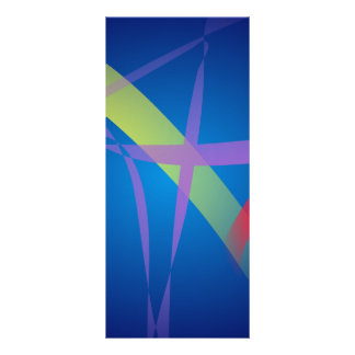 Cintas en espacio de los azules marinos tarjetas publicitarias
