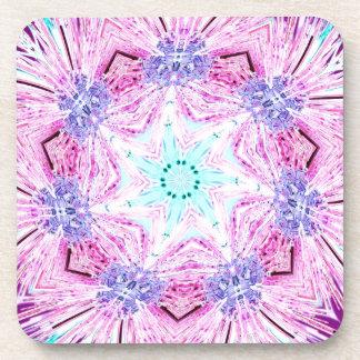 Cintas enero de 2013 rosa claro posavasos de bebida